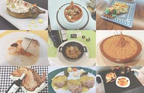 Muestra gastronomica del azafrán